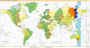 canadian map with time zones chamorro time zone