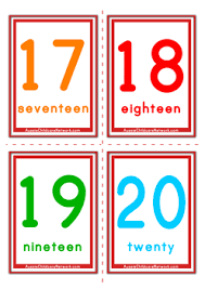 free printable number flashcards 1 20 30 images of template flash cards 1 100 helmettown com