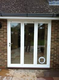 patio doors with dog door built in cat hits glass door images glass door interior doors u0026 patio doors