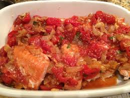 ina gartens best recipes salmon and melting tomatoes recipe ina garten salmon salmon