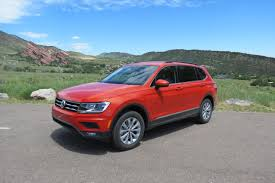 first drive redesigned 2018 volkswagen tiguan carfax blog