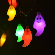 Led Outdoor Halloween Decorations by Solar String Lights Halloween Decorations Lights 30 Led