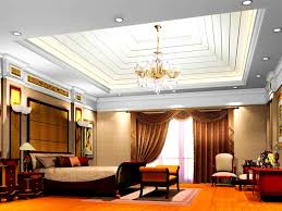 bedroom beautiful false ceiling design and lights gypsum designs