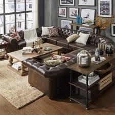 10 seat sectional sofa tribecca home knightsbridge tufted scroll arm chesterfield 10 seat u