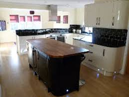 small modern kitchen design with island ideas cutting grey granite kitchen design virtual ideas orangearts small modern with wooden island butcher block countertop and white cabinetry