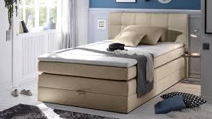 Schlafzimmer Mit Bett 140x200 New Bedford Bett Schlafzimmer Beige Mit Topper 140x200