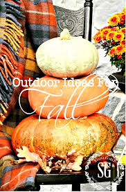 fall decorations for outside outdoor ideas for fall decorating stonegable