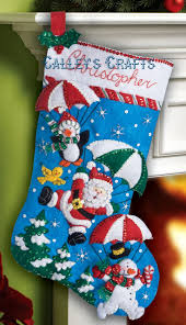 Homemade Christmas Stockings by 17 Best Ideas About Felt Christmas Stockings On Pinterest Diy