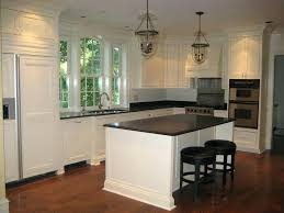 fascinating white kitchen cabinets with granite countertops
