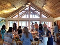 Western Dining Room Stonefly Lodge Is Located At 80 Utley Ln Twin Bridges Mt 59754