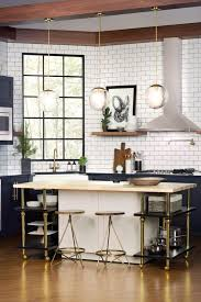 Industrial Kitchen Backsplash by Kitchen Lighting Industrial Light Fixtures Bowl Chrome Glam Bamboo