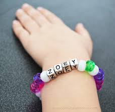 beaded name bracelets easy kids friendship bracelets artsy fartsy