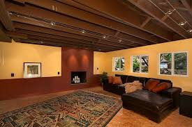 lofty idea what color to paint basement ceiling unfinished
