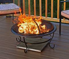 Fire Pit Pad by Deck Protector Fire Pit Heat Shield Outdoor Fire Pits U0026 Fire