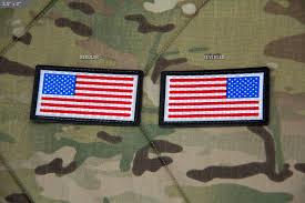 Uniform Flag Patch Msm Ir Sealed Us Flag Mil Spec Monkey Store