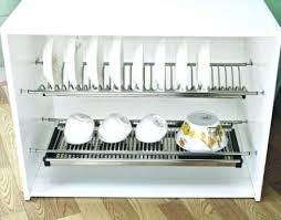 kitchen dish cabinet kitchen draining rack kitchen cabinets with dish rack stainless