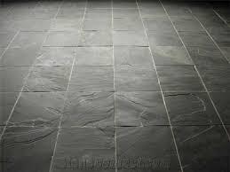 flooring slate tiles riven black slate tiles from china
