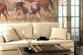 Wall Decorating Ideas For Living Room Western Wall Decor Ideas Cowboys Themes Hangings Accents Best