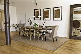 decorating tips of rug under dining table qc homes