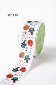 halloween grosgrain ribbon halloween ribbon spider web ribbons u0026 more may arts
