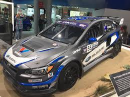 subaru rally wheels oc 2017 subaru wrx sti redbull global rallycross car seen at ny