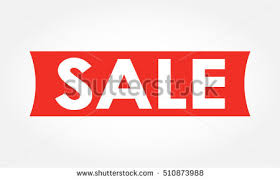 discount ribbon sale banner discount ribbon stock illustration 510873988