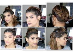 hairstyles for short medium length hair 5 quick hair styles for short hair medium length hair youtube