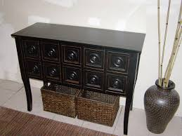 Oak Sofa Table With Drawers 30 Photos Sofa Table Drawers
