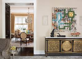 how new york designer marshall watson uses art in his designs