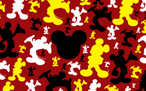 mickey mouse logo charaters background hd background wallpapers