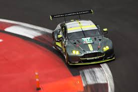 aston martin racing mexico a double front row start for aston martin racing