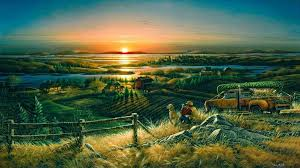 South Dakota landscapes images Ten 39 must see 39 south dakota paintings sdpb jpeg