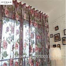 Noble Curtains Aliexpress Com Buy Xyzls Luxury And Noble Sheer Curtains Purple