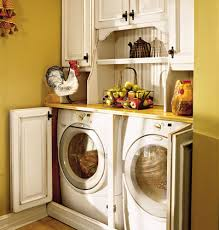 beautiful decoration laundry area in kitchen for hall kitchen