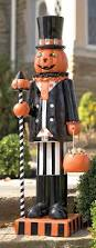 924 best halloween haven images on pinterest halloween crafts let our glowing pumpkin man stand guard at your door for an eight hour shift