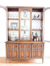 china cabinet singular vintage china cabinet hutch photo