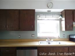 white cabinets wood trim