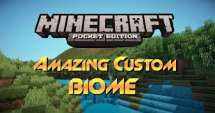 Biomes Map Amazing Custom Biome Map Review Minecraft Pocket Edition Youtube