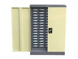 Yellow Metal Storage Cabinet Metal Storage Cabinet Parts Storage Decorations
