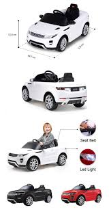 land rover kid rastar baby remote control child electric land rover kids car