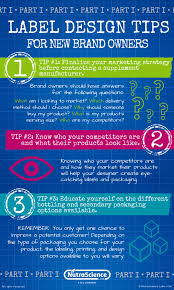 label design tips for new brand owners part 1 nutrascience