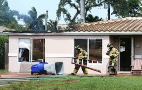 small plane crashes into south florida house with 3 aboard tbo com