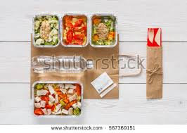 healthy food delivery take away diet stock photo 452037955
