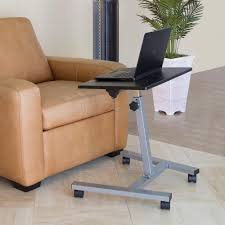Sit Stand Desk Vancouver by Seville Classics Black Mobile Laptop Sit And Stand Desk With