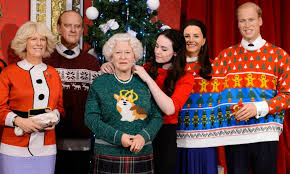 elizabeth and the royal family take on the holidays