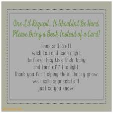 book instead of card baby shower poem baby shower invitation inspirational baby shower invite wording