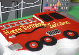 firetruck cakes trucks birthday party evite