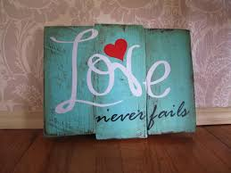 never fails reclaimed wooden plank distressed wood sign wall