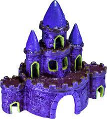 glofish castle aquarium ornament color varies large chewy