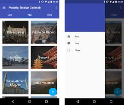 build a material design app with the android design support library